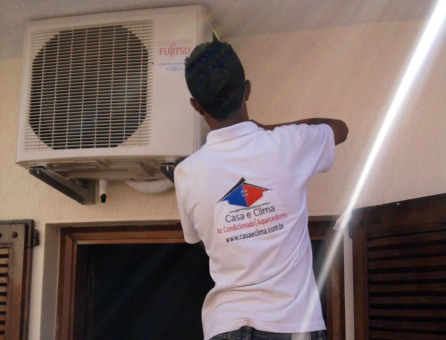 Instalações Ar condicionado e Aquecedores
