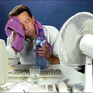 Qual a temperatura no seu ambiente de trabalho?